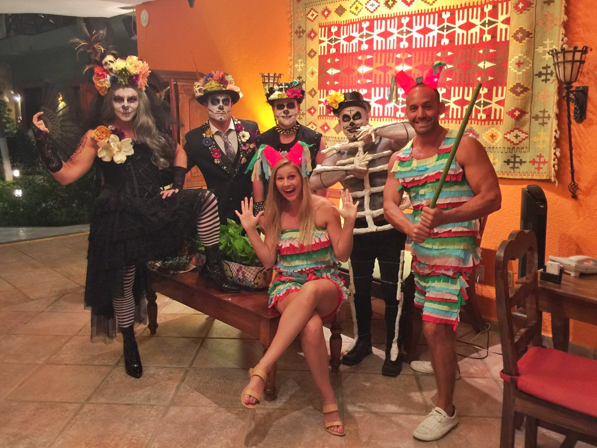 Halloween Playa del Carmen, Mexico