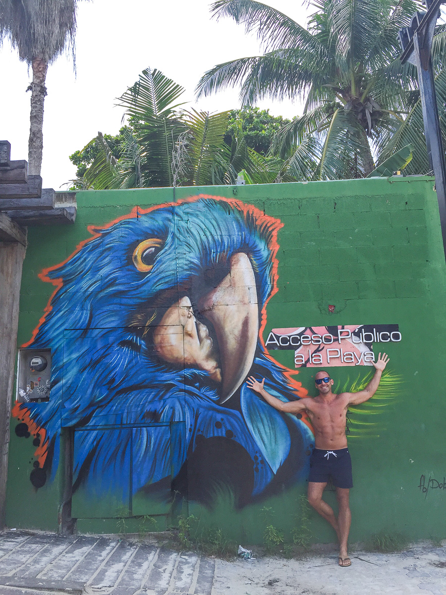 Blue Parrot - Playa del Carmen, Mexico