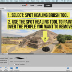 Adobe Photoshop Elements 14 Spot Healing Tool