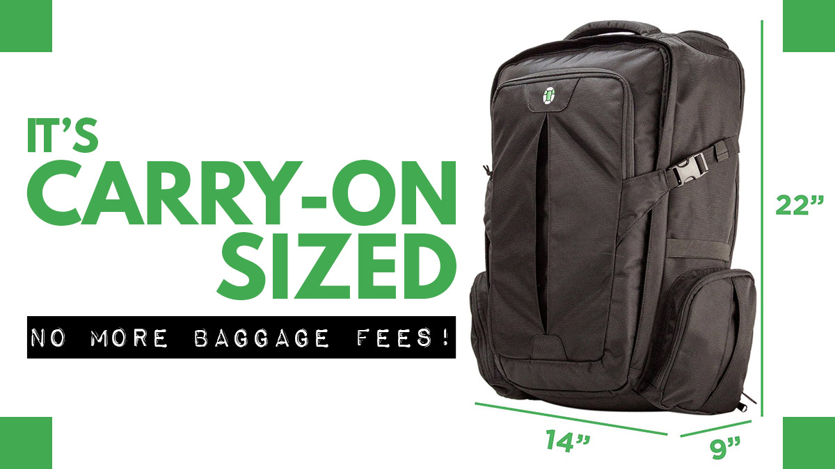 Tortuga Travel Backpack Review - Carry On Sized Backpack