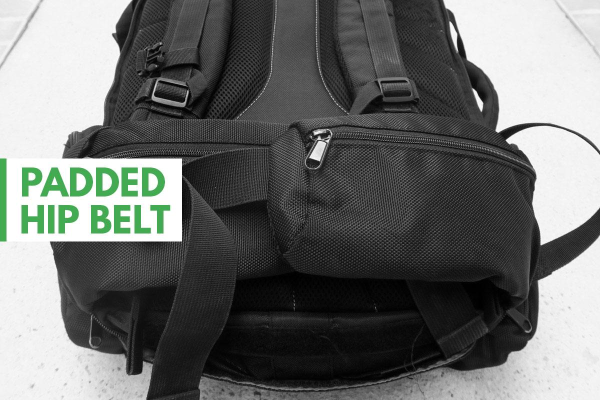 Tortuga Travel Backpack Padded Hip Belt