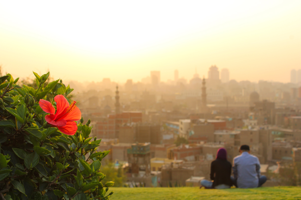 Sunset Al-Azhar Park