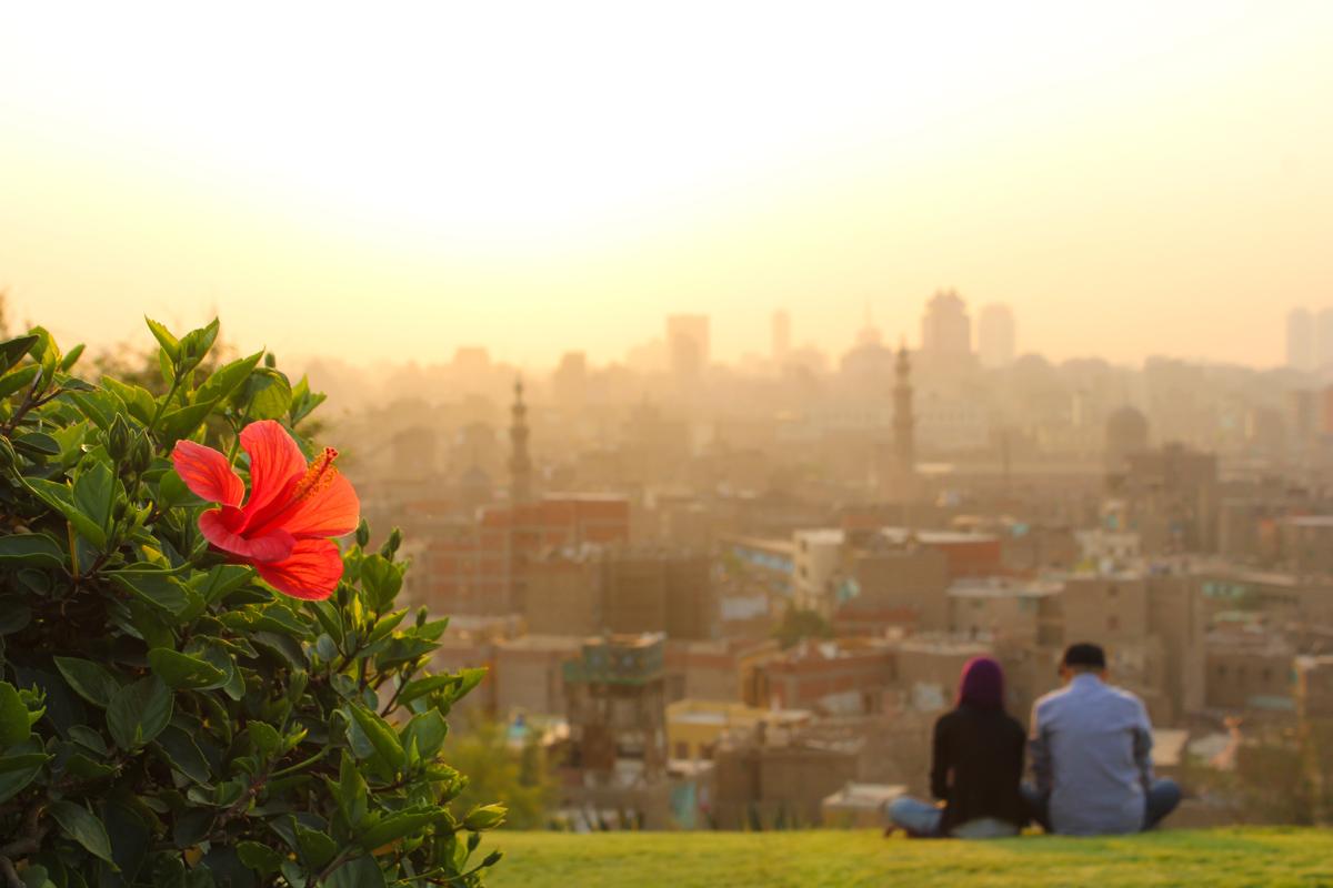 Sunset Al-Azhar Park