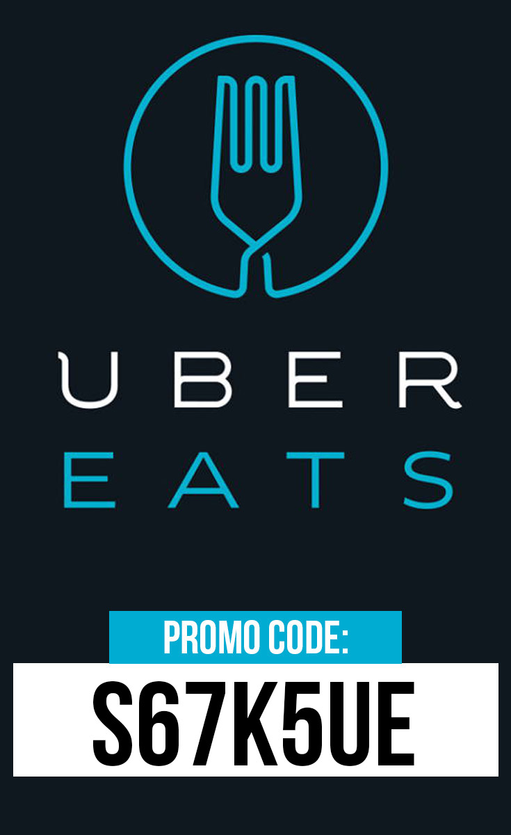 ubereats promo code: use this special code: s67k5ue