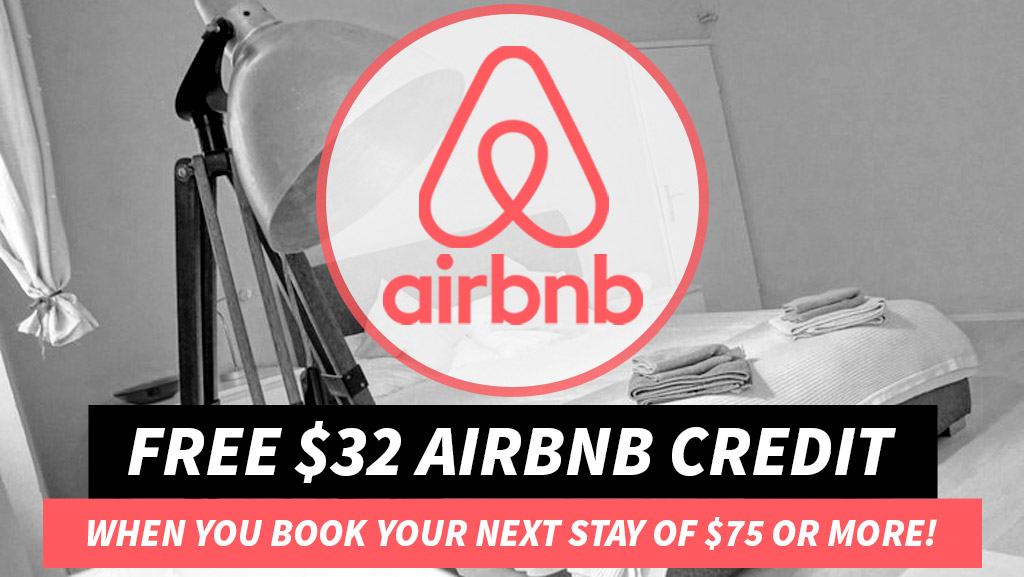 $32 OFF Airbnb Coupon Code Discount