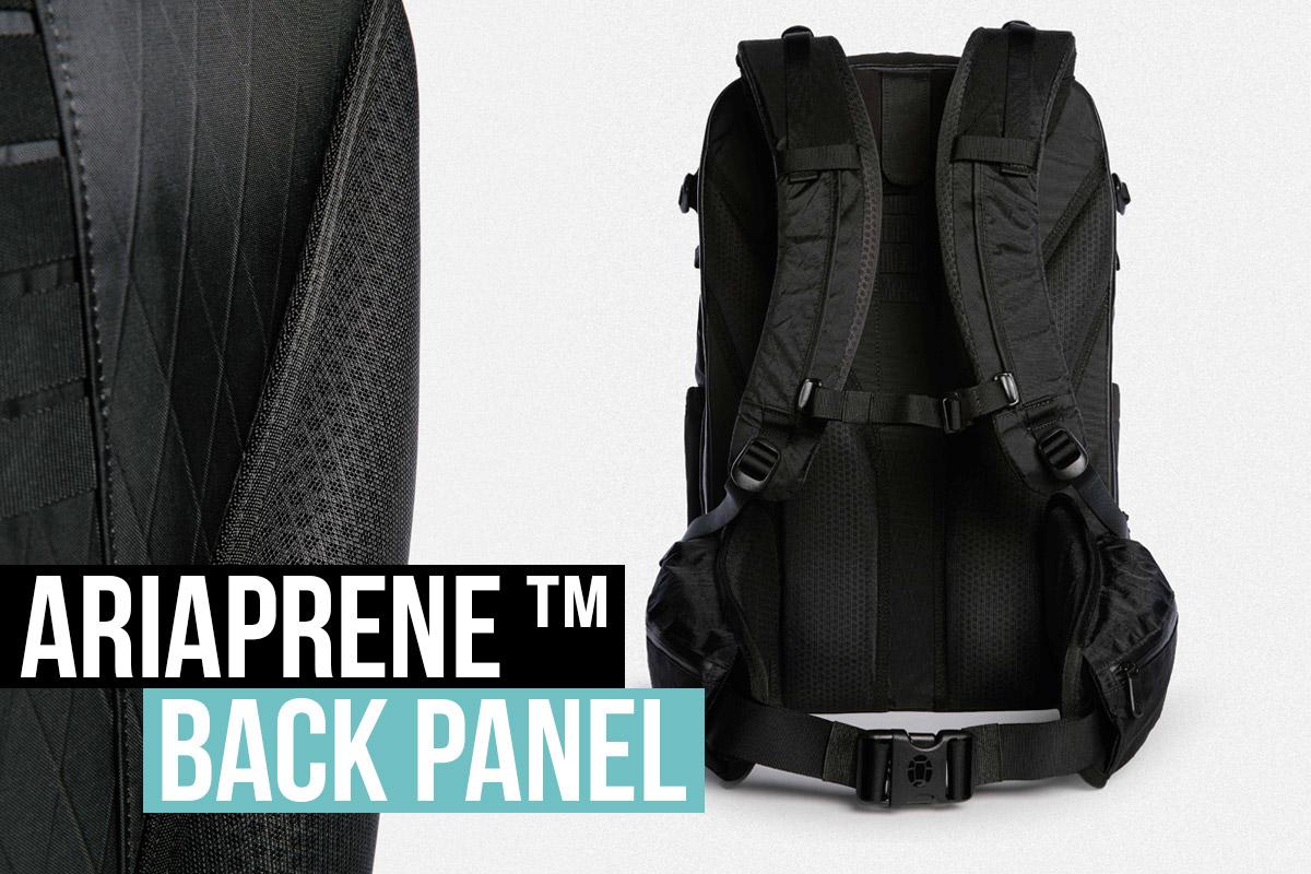 Tortuga Outbreaker Backpack Ariaprene Back Panel