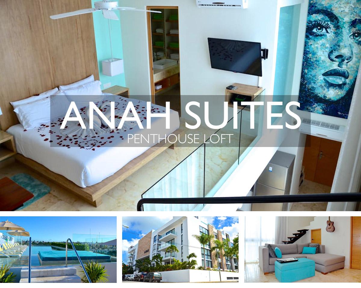 Anah Suites Penthouse Loft Airbnb Playa del Carmen