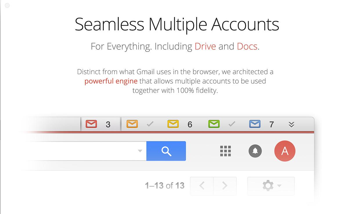 Kiwi for Gmail - Manage Multiple Accounts