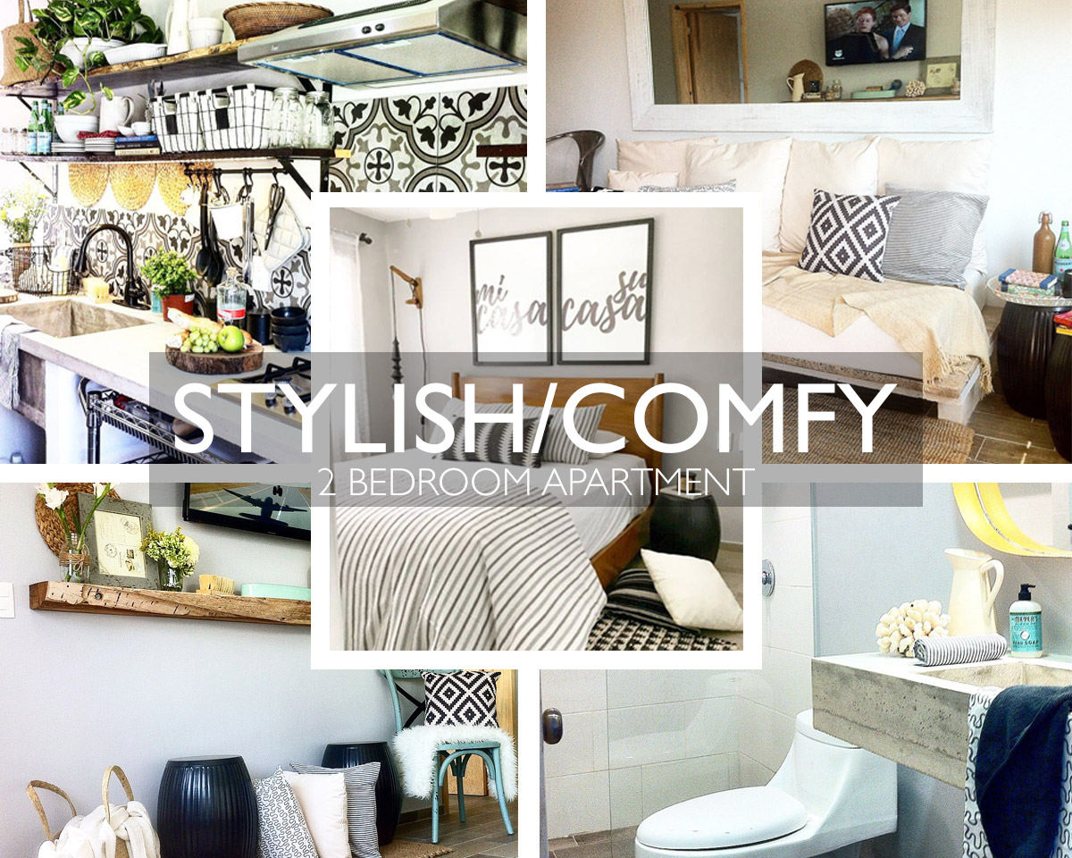 Stylish and Comfy 2 Bedroom Apartment - Playa del Carmen