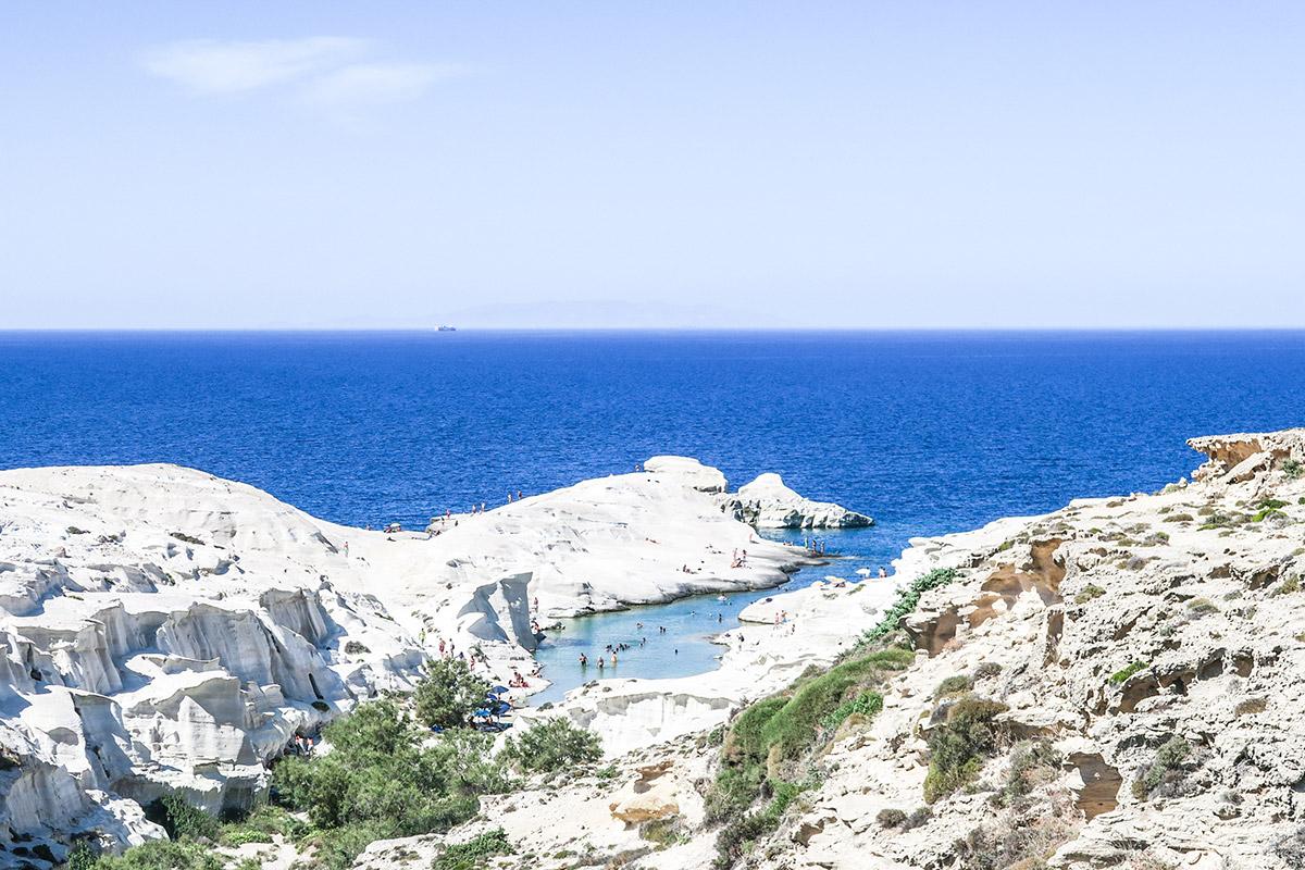 Sarakiniko Beach - Milos, Greece