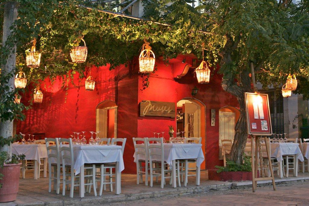 Muses Restaurant Symi