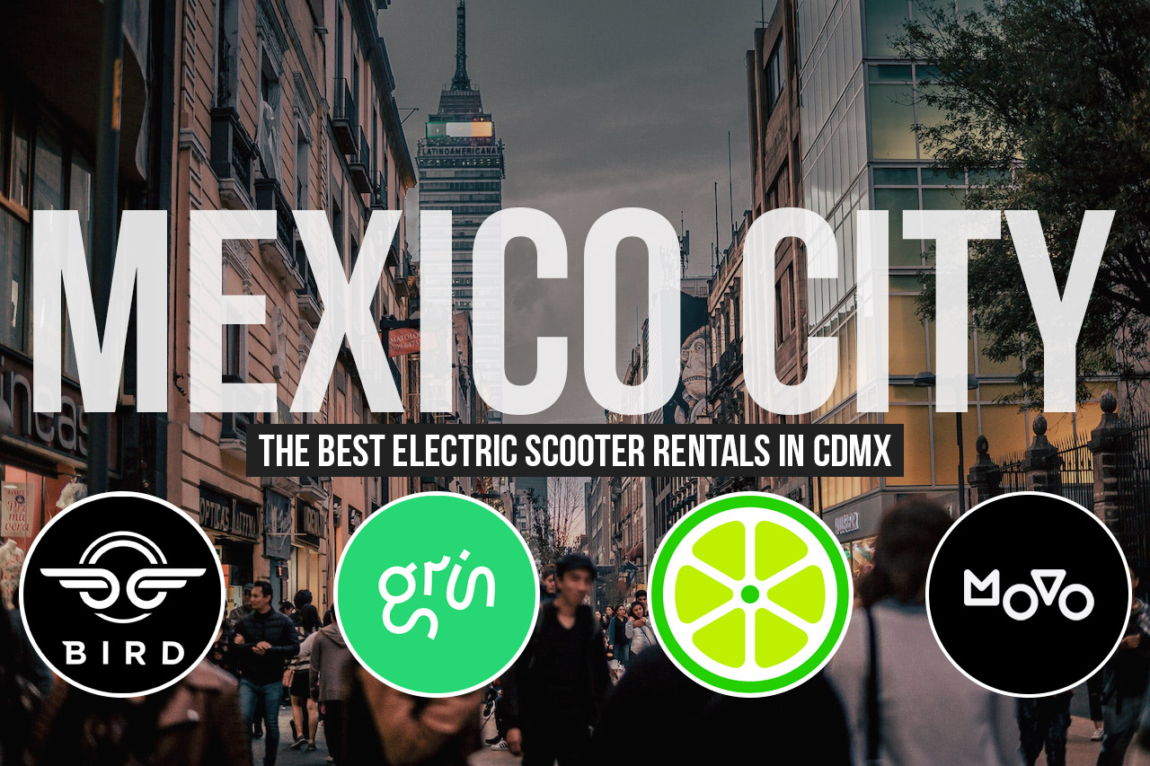 Electric Scooters CDMX Mexico City