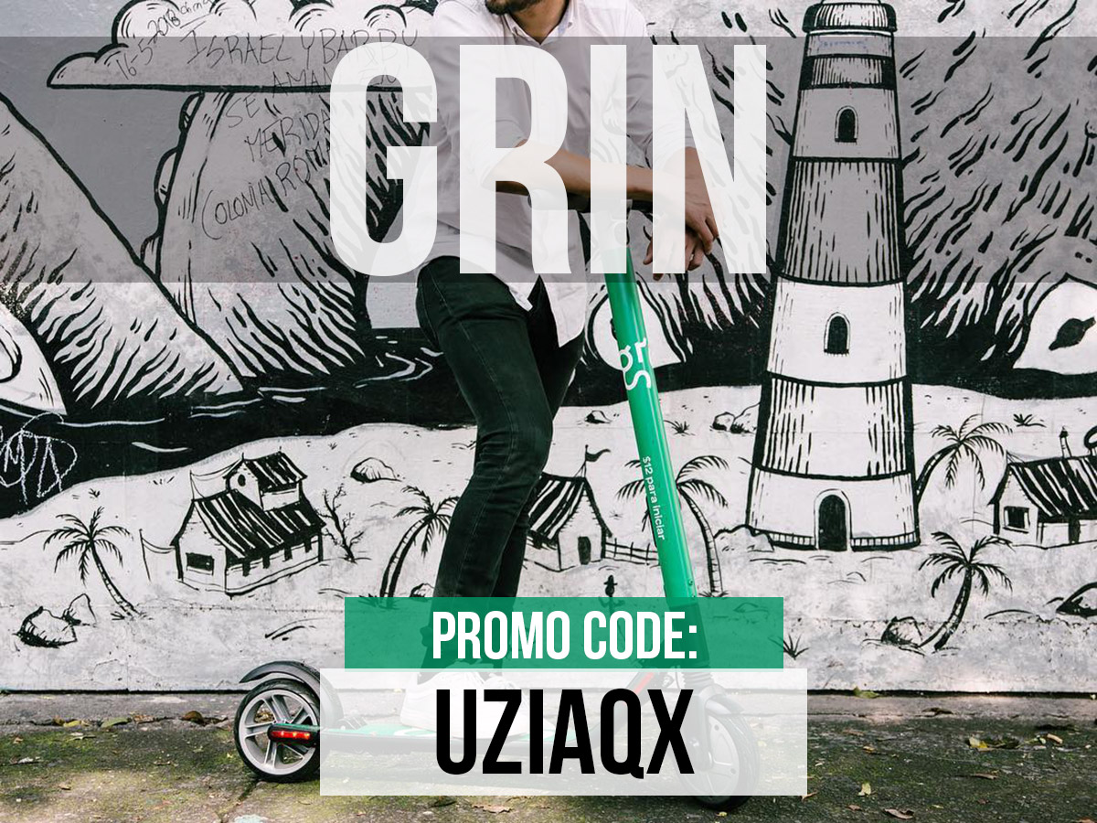 Grin Scooter Promo Code Mexico City