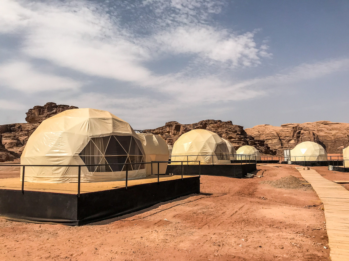 Bubble Tents - Wadi Rum