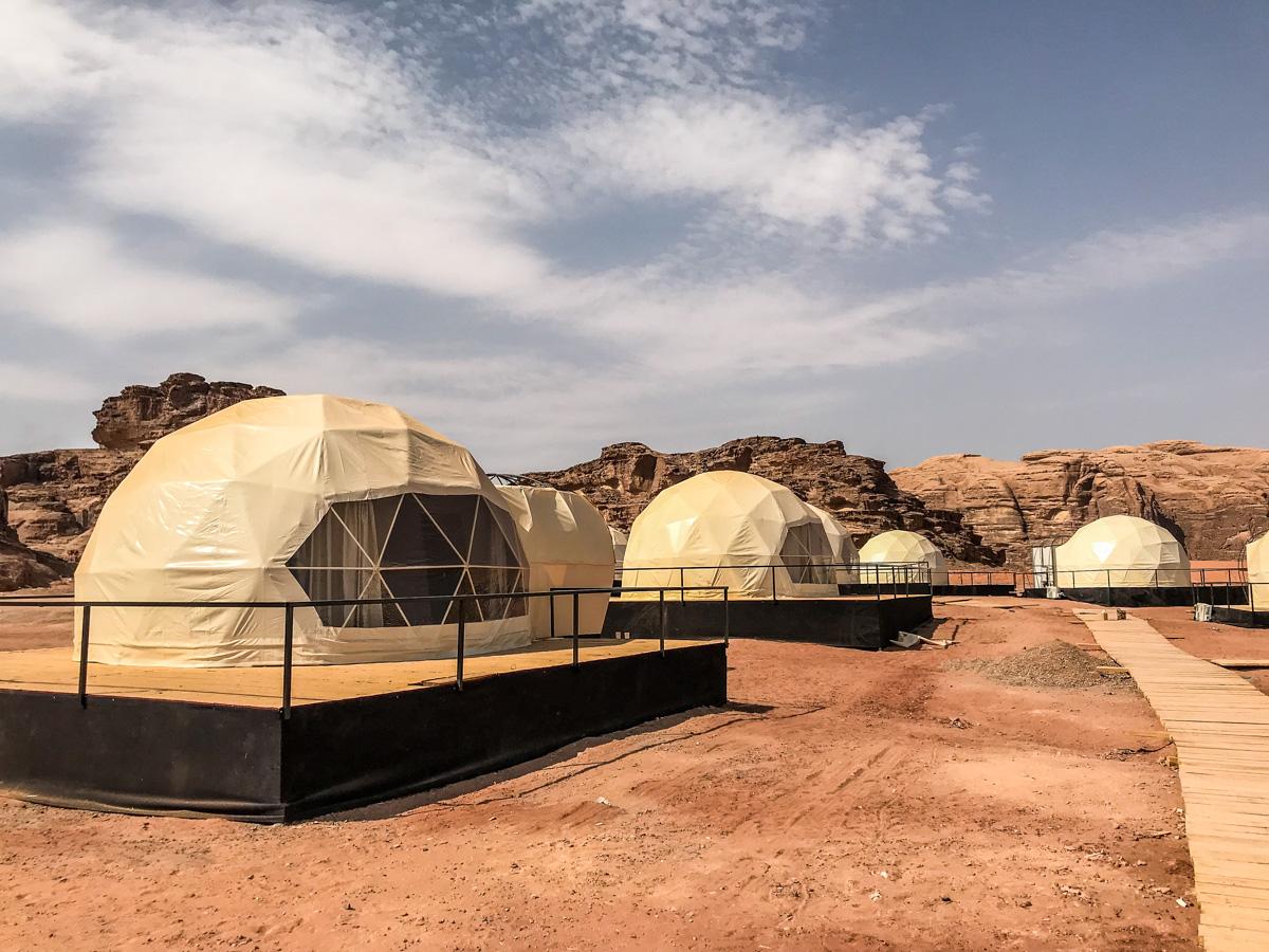 Bubble Tents - Wadi Rum