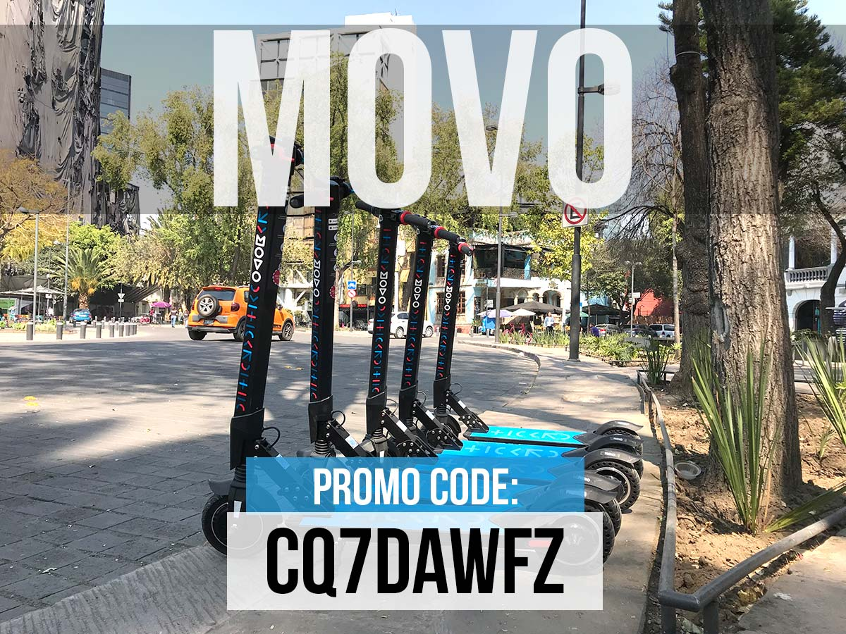Movo Scooter Promo Code Mexico City CDMX