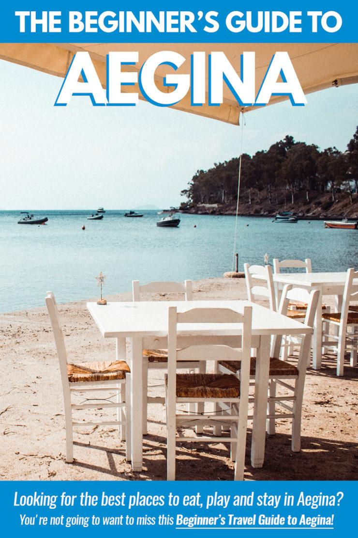 Aegina Greece Pin