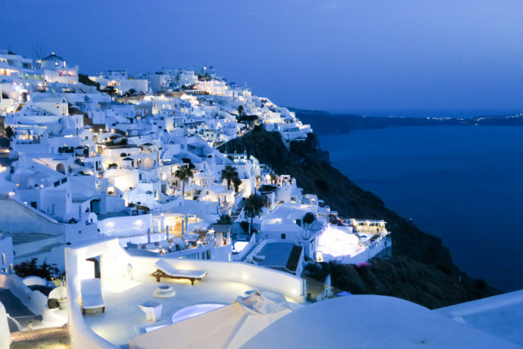 Airbnb Santorini Greece