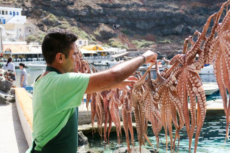 Ammoudi Bay Seafood Santorini
