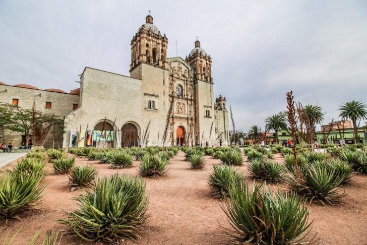 Church of Santo Domingo de Guzmán Oaxaca City Mexico