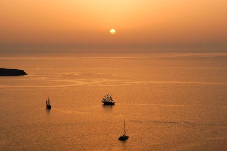 Oia Sunset - Santorini, Greece