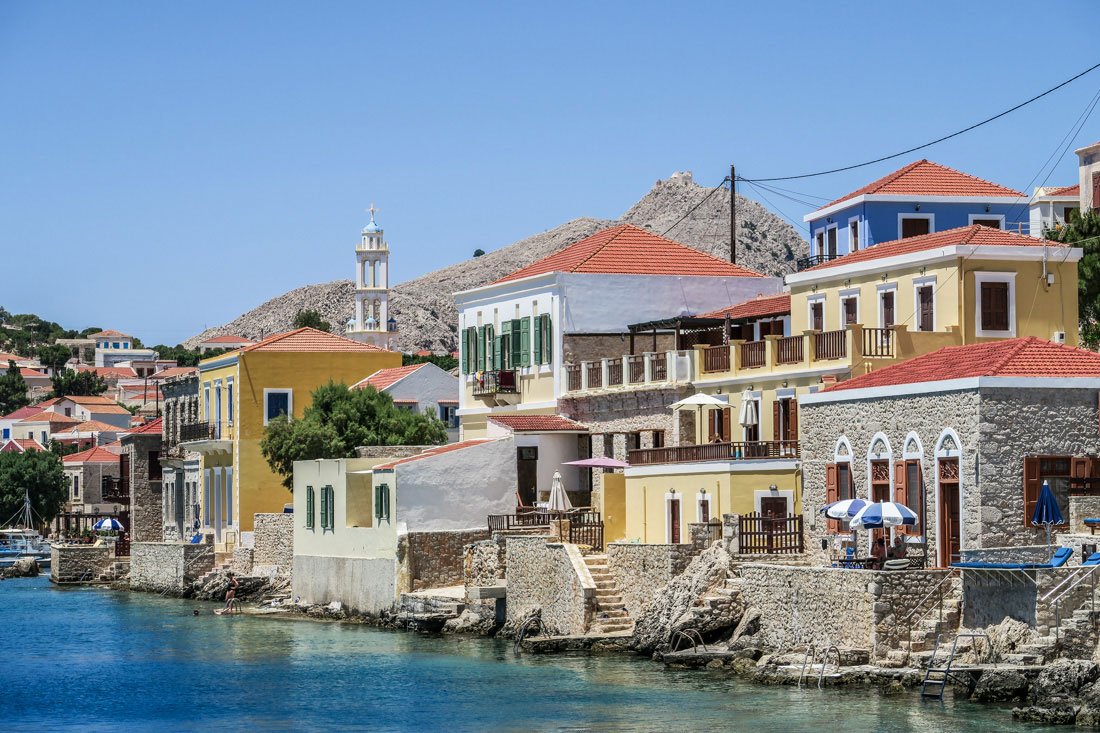 Where to Stay in Halki
