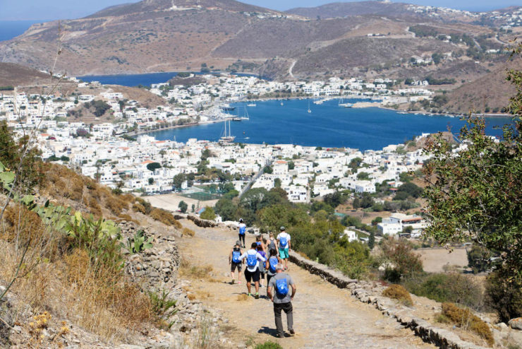Hiking in Patmos, Greece