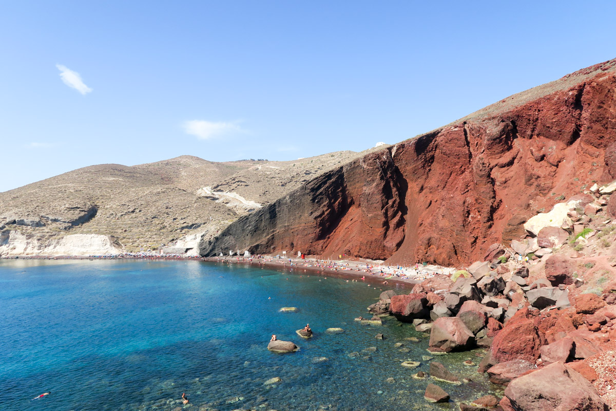 Red Beach - Santorini, Greece