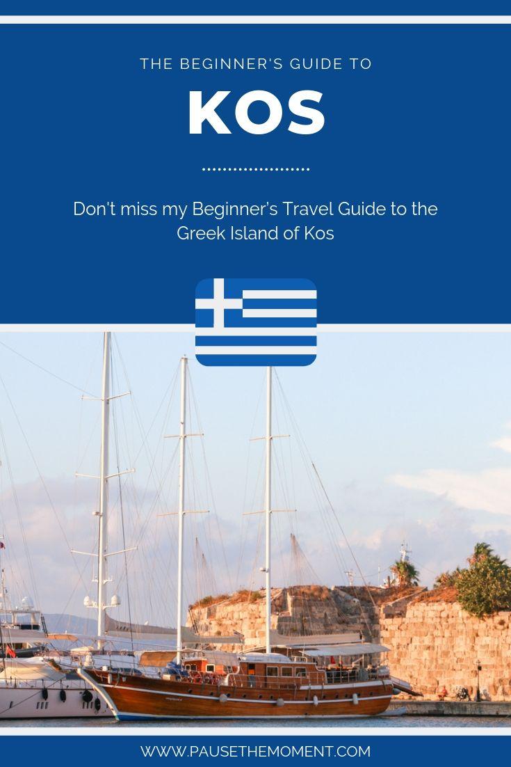 Kos Travel Guide Pinterest