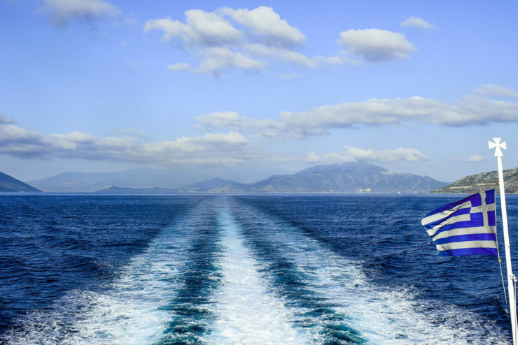 Milos to Kimolos Ferry