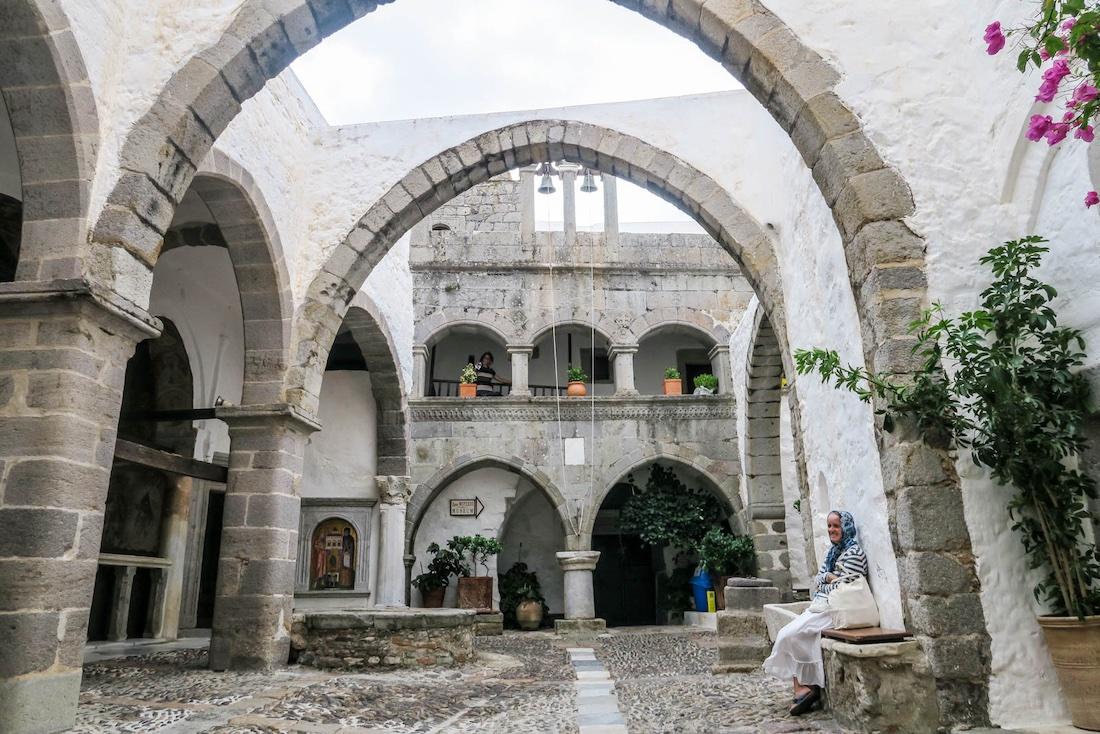 Monastery of St John Patmos Greece
