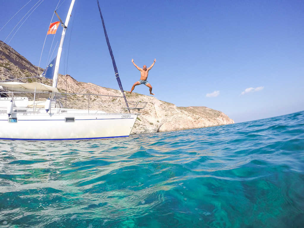Oneiro Boat Tour Milos Greece