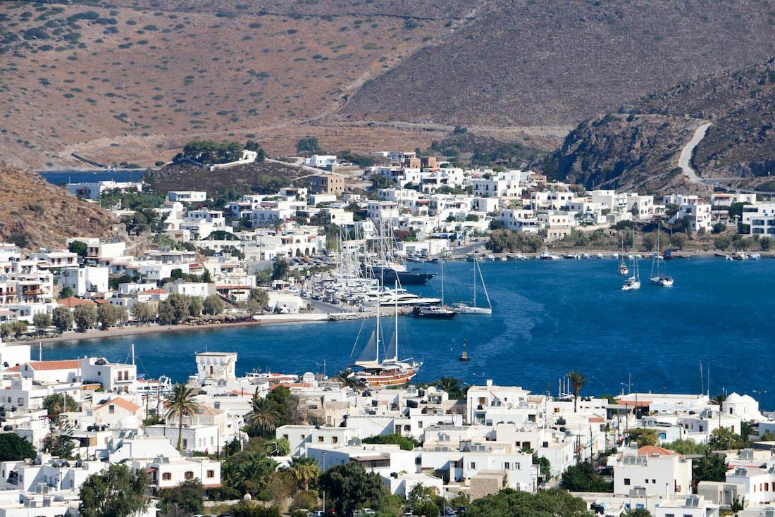 Skala Port of Patmos