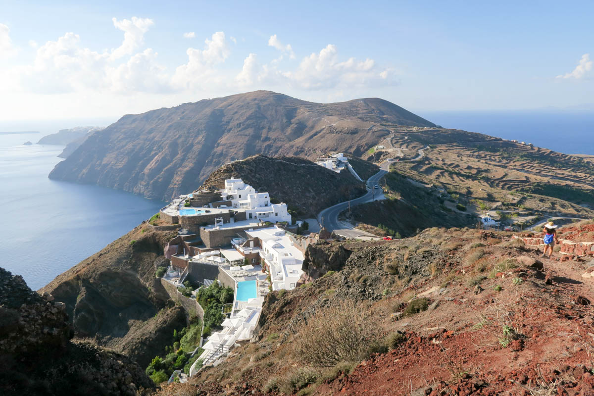 Santorini Hiking - Fira to Oia Hike