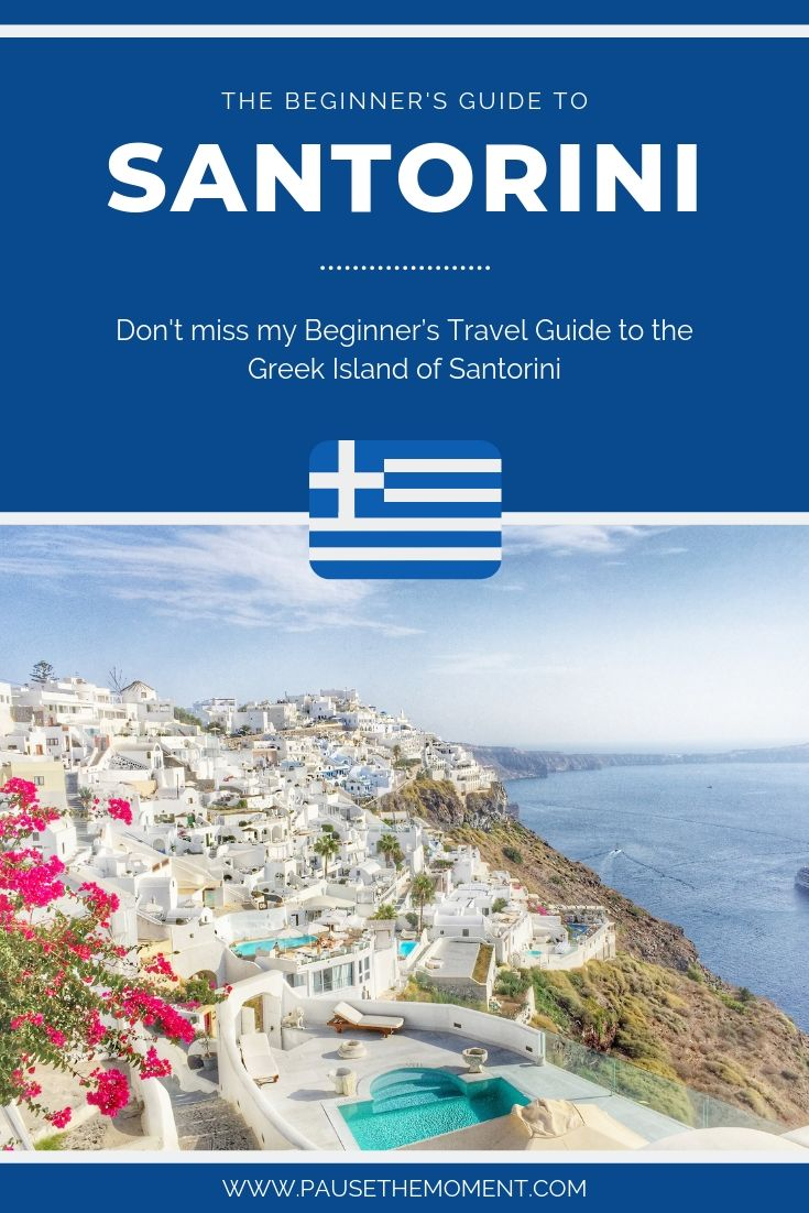 Santorini Travel Guide Pinterest