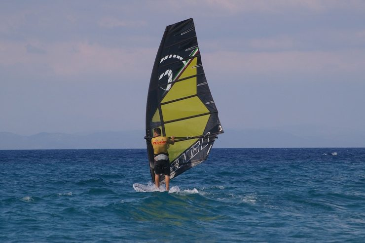 Things to Do in Samos - Windsurfing in Samos