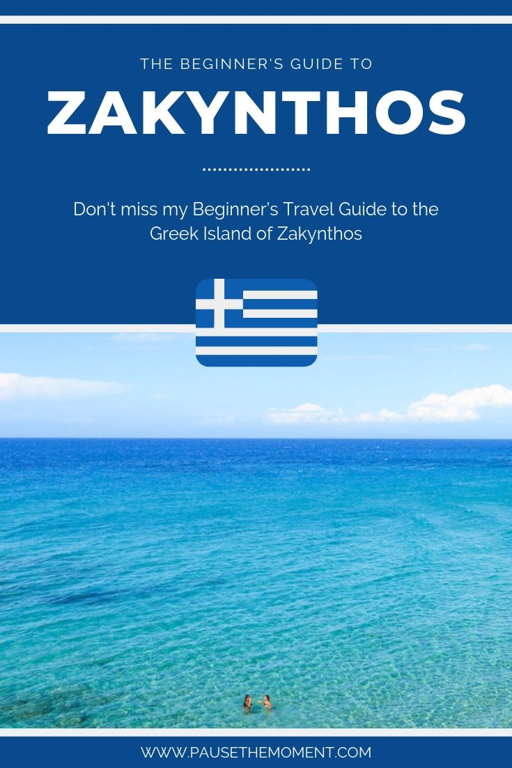 Zakynthos Travel Guide Pin