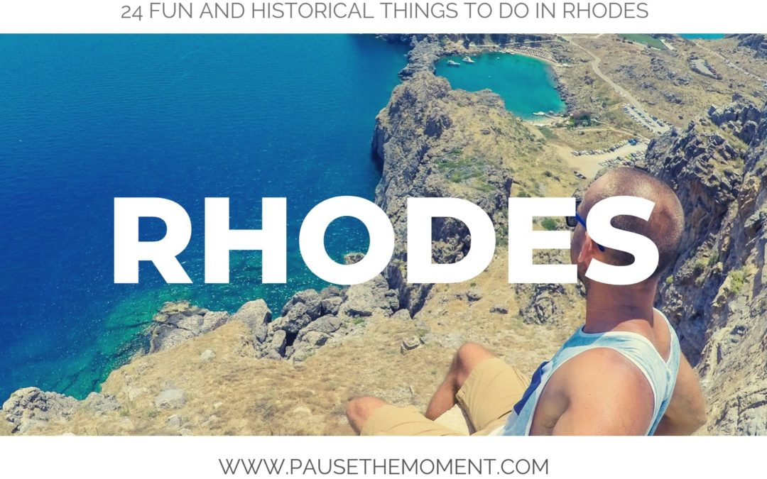 24 Fun & Historical Things To Do in Rhodes, Greece