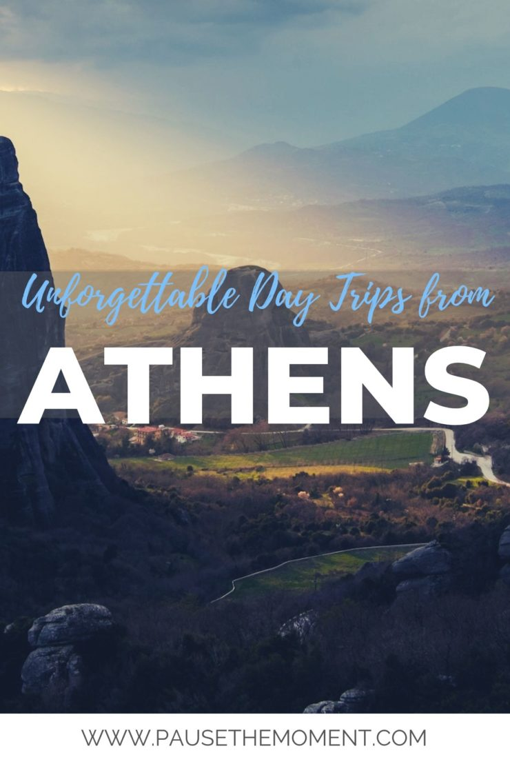 8 Unforgettable Day Trips From ATHENS PIN