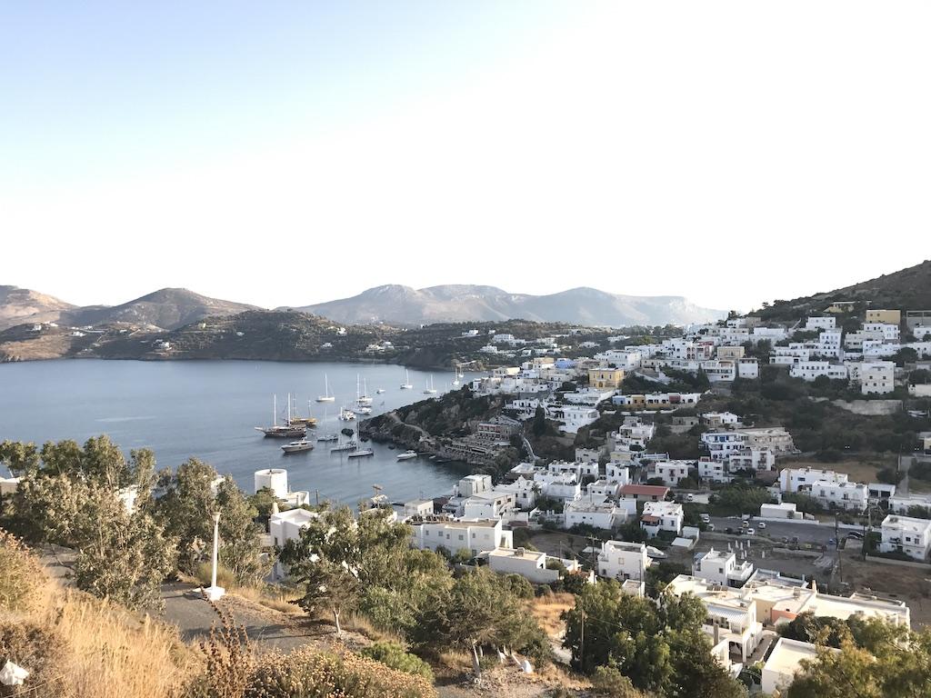 Leros Greece Views from Windmills