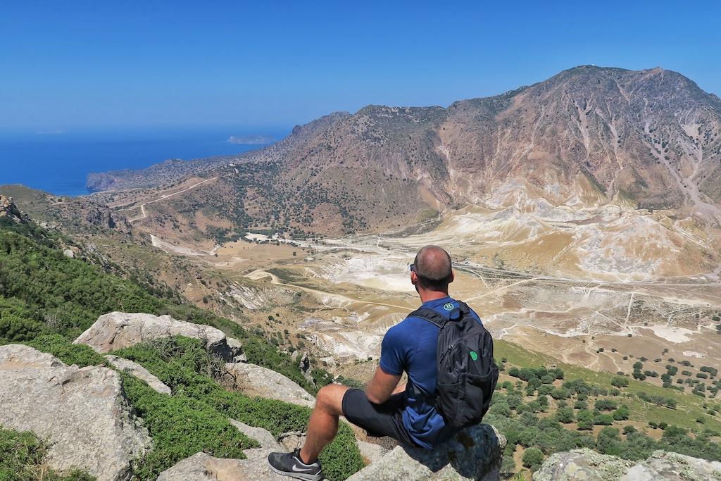 Nisyros Greece Volcano
