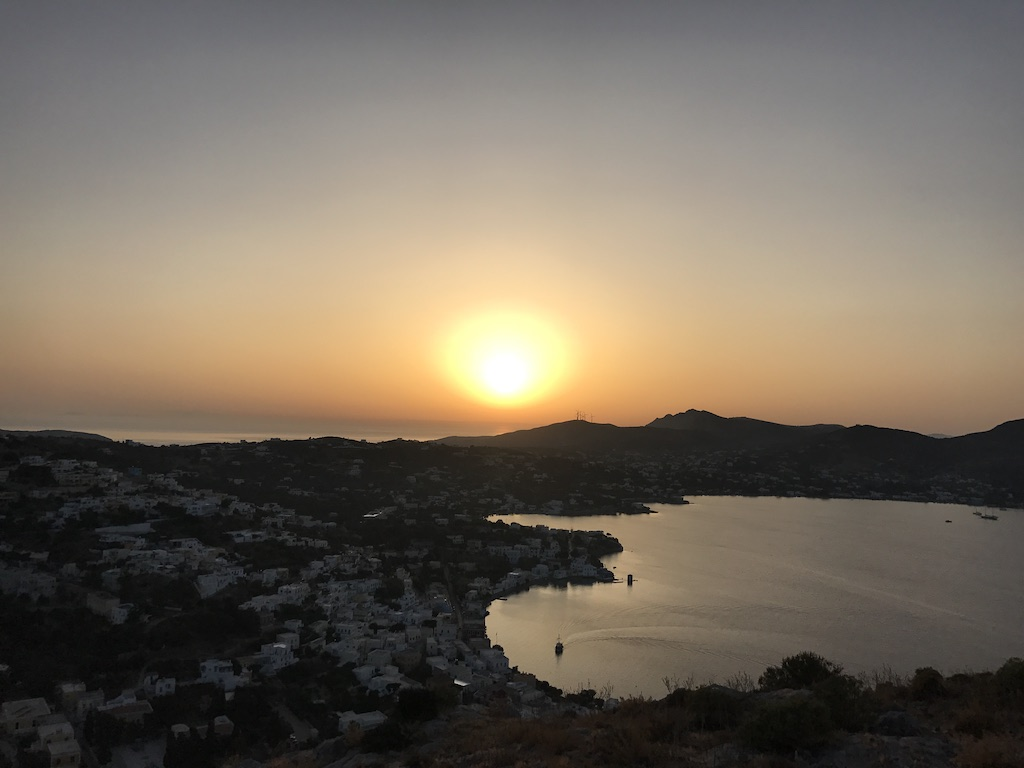 Sunset from Leros