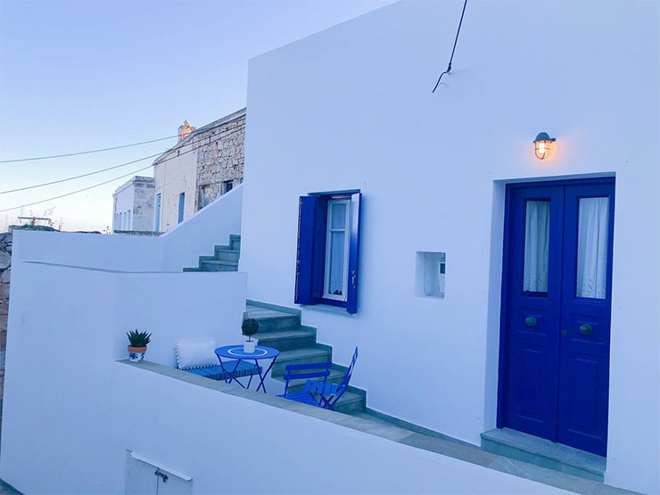 Traditional Cycladic House