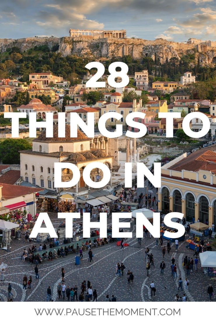 28 Things To Do in Athens Pin