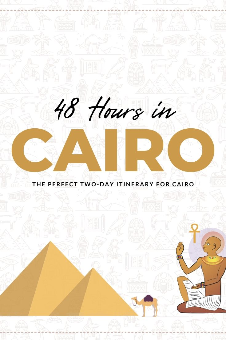 48 hours in Cairo PIN