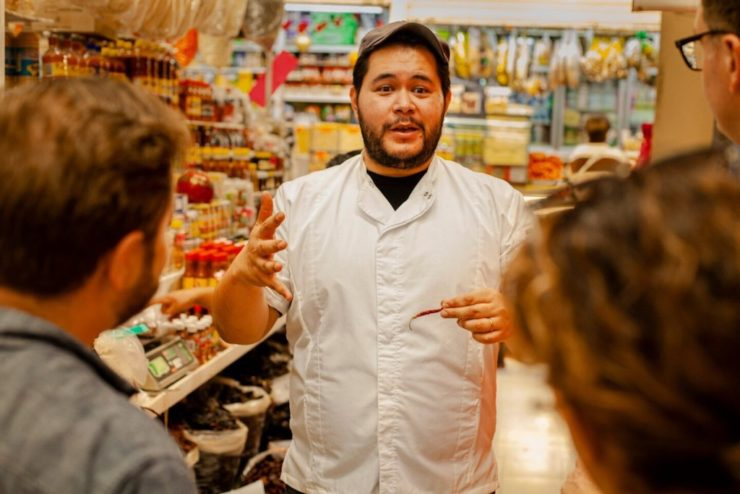 Mexico City Food Market and Cooking Tour