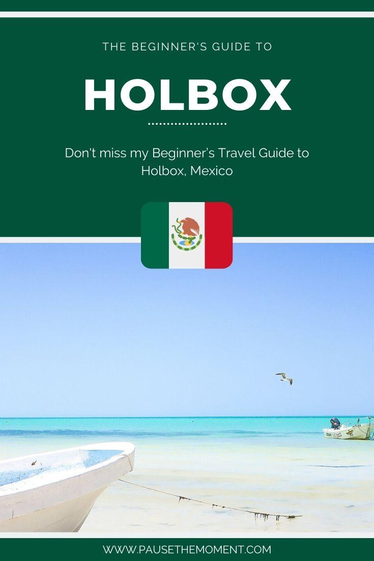 Holbox Travel Guide Pinterest