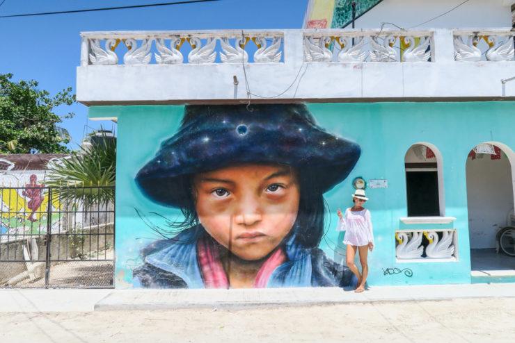 Isla Holbox Street Art