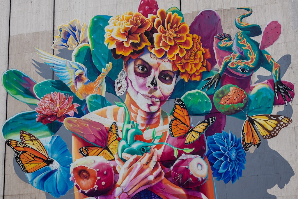 Mexico City Street Art Airbnb Experience