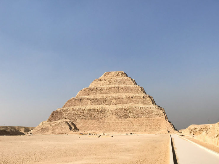 Saqqara Pyramids Egypt